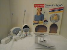 2002 Fisher Price Sounds N Lights Monitor Baby Monitor