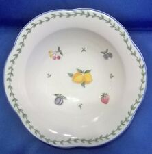 """MIKASA COUNTRY CHARM GARDEN MEDLEY CM005 SOUP/CEREAL BOWL 8 3/4"""""""