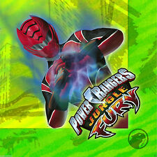 Power Rangers Jungle Fury Napkins Birthday Party Luncheon Green 16 Count