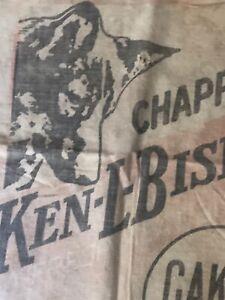 Vintage Flour Sack Bag Fog Ken-L-Biskit