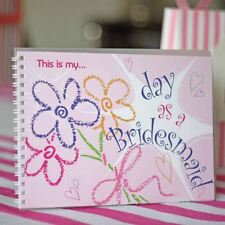 1 x This Is My Day as a Bridesmaid Keepsake Book