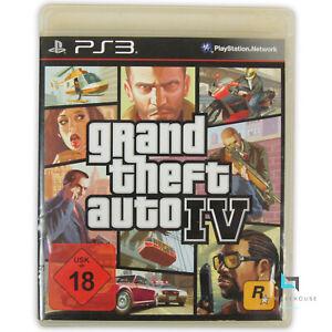Grand Theft Auto IV - PlayStation 3 GTA 4 Action komplett Stadtplan Reiseführer