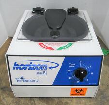 New Listingthe Drucker Company Horizon Mini B 642 B Laboratory Centrifuge Amp 4 Tube Inserts