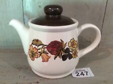 Sadler England 1970s retro teapot vgc 1 Pint Size