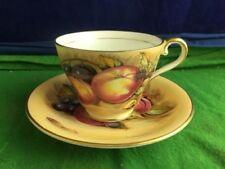 Porcelain/China Tea Cup & Saucer British Aynsley Porcelain & China