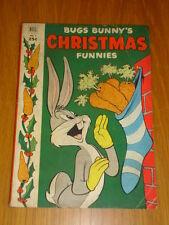 BUGS BUNNY'S CHRISTMAS FUNNIES #3 VG (4.0) 1952 DELL GIANT COMIC B
