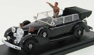 1/43 RIO-MODELS - MERCEDES BENZ - 770K WITH HITLER FIGURE 1942 4064/P