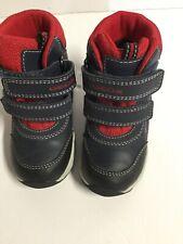 Geox Kids Size 6.5 Black Red Winter Boots Waterproof Boots. E12