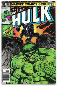 Incredible Hulk #261 (07/81) Marvel Comics Early Bronze Age Frank Miller Cover