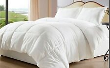 White Goose Down Alternative  Washable Comforter Duvet Cover Insert  King Size