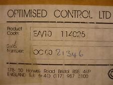 New Optimised Control EA/10 114025 D601