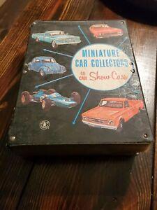 Vintage 1966 Mattel Miniature Car Collectors 48 Car Show Case No 5025