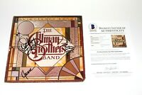 THE ALLMAN BROTHERS BAND SIGNED RECORD ALBUM VINYL LP BECKETT COA GREGG DICKEY