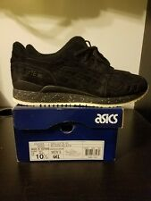 Asics Gel-Lyte III x Reigning Champ Black Suede size 10.5