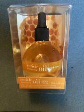 Cuccio Naturale Milk & Honey Cuticle Revitalizing Oil - Nib Full Size 2.5 fl oz