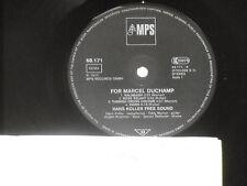 HANS KOLLER FREE SOUND -For Marcel Duchamp- LP 1977 MPS Archiv-Copy mint