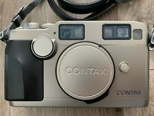 Contax G2 Rangefinder 35mm Film Camera Silver Body - Boxed