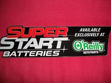 Super Start Batteries Decals Stickers Classic Cars Race Cars