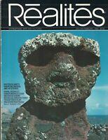 Realites Magazine January 1980 Easter Island Chinese People Armand Hammer