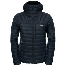 The north face morph hoody jacket black fill zip bubble down puffer L large bnwt