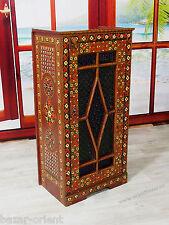 antik orient vertikos vitrine Kommode Schrank Afghanistan cabinet cupboard -4C