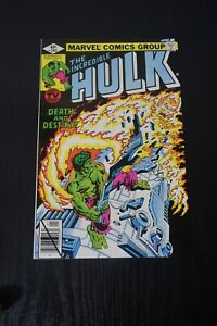 The Incredible HULK #243 VF/NM combine shipping 50 cents per comic