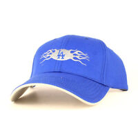 MLB Los Angeles Dodgers Blue Flame CAP HAT Adjustable One Size Free Shipping
