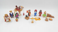 Playmobil Weihnachtskrippe mit LED Laterne & heilige 3 Könige - unkomplett