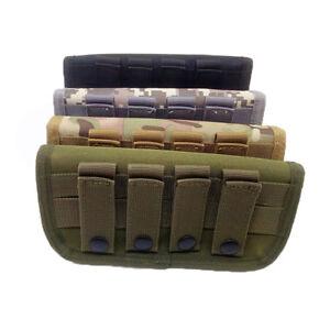Hunting Molle Shells Cartridge Rifle Ammo Bag Pouch Bullet Holder Shotgun Shell
