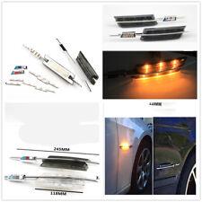 2x LED Side Marker Light Turn Signal For BMW M E90 E91-E93 E81 E88 E60 AMA