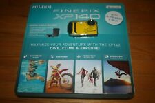 NIP Fujifilm FinePix XP140 Waterproof Yellow Digital Camera Bundle SHIP FREE US