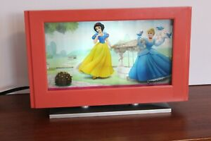 Disney Princess Moving Picture Light Lamp Shadow Box Fairy 3D Wall Table