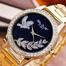 F-357-G fashion and new steel belt quartz wrist watch for women and men VF