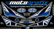 Triumph Sprint ST 1050 2005 - 2009 Motografix Front Number Board Gel Protector