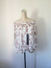Lucky brand Off shoulder Top XS