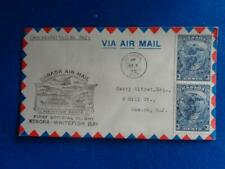 CANADA FIRST FLIGHT COVER:  1935 KENORA ONT.