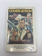 COVERT ACTION - 1978 - VHS - PAL - VTC Video Label - SWEDEN - VERY RARE