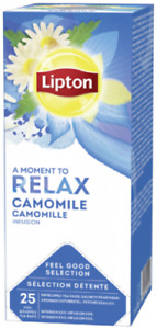 Lipton Camomile Tea Bags  25 Enveloped  Tea Bags Supplied Free UK Delivery