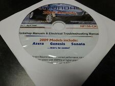 2009 Hyundai Azera Sedan Shop Service Repair Manual CD Limited GLS 3.3L 3.8L