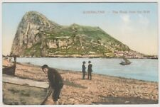 Gibraltar postcard - Gibraltar, The Rock from the N.W
