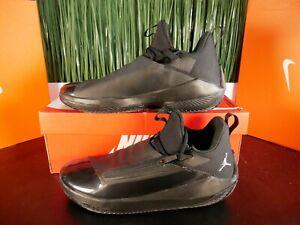 Nike Air Jordan Jumpman Hustle Triple Black Mens Shoes AQ0397-001 Size 10