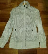 Mackage pearl white windbreaker jacket size s small