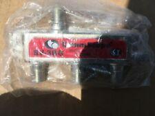 3 WAY COMMSCOPE / SIGNAL VISION / SVI DIGITAL COAX CABLE SPLITTER SV-3BG NEW