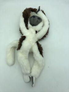 "Adventure Planet Lemur Monkey Gray Brown White Plush Stuff Animal 23"""