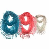 Infinity Scarf Top Fashionland Premium Soft Lace Fringed Infinity Scarf