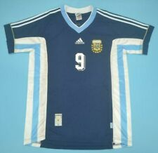 Argentina National Team Jersey World Cup 1998 #9 Batistuta Camiseta Shirt Sz XL