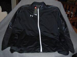 UNDER ARMOUR Threadborne ColdGear Jacket #1298529 - Black - LGT/G-Long