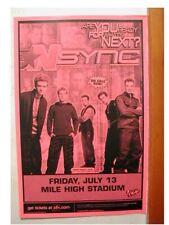 2 *Nsync Handbills Nsync N Sync Handbill poster