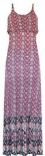 Monsoon Halaku Double Layer Dress Chevron Design Multi Coloured Size Large BNWT