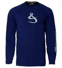Hook & Tackle Long Sleeve Men's T Shirt -XL - 50+ Sun Protection UPF Quick-Dry